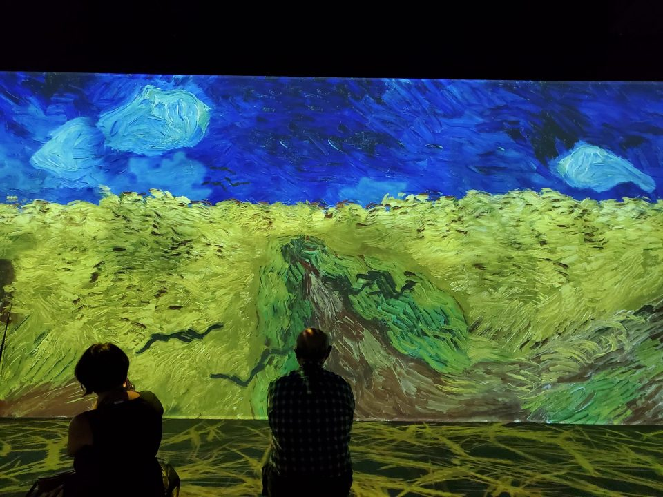 Wheat Field with Crows - Van Gogh Immersive Experience   Adventures with Shelby