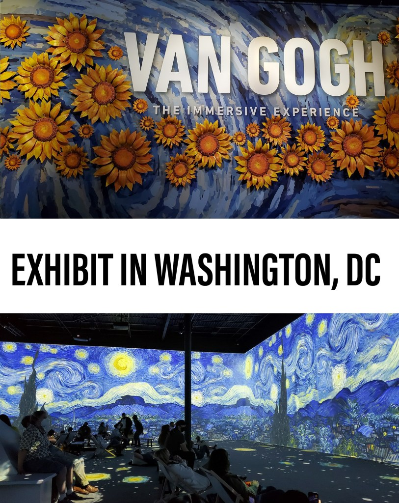 Van Gogh Immersive Experience in Washington, DC   Adventures with Shelby