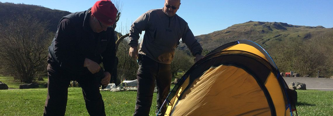 Expeditions skills module for mountain leaders in South Wales, Adventures With Will