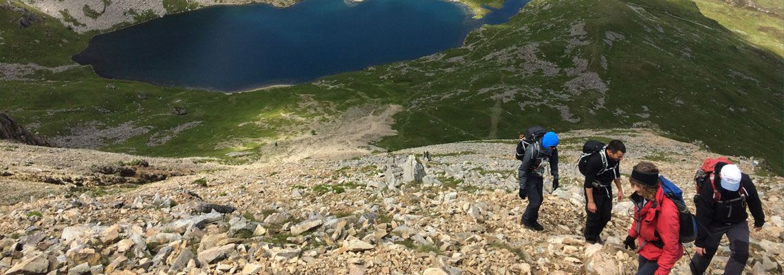 Mountain Leader Courses in Wales with Adventures with will