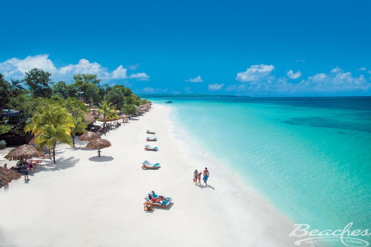 Family-friendly all inclusive resort Beaches Negril in Jamaica