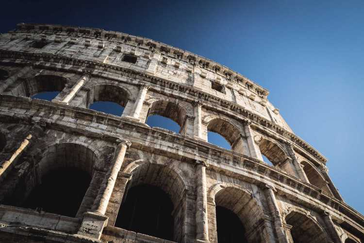 Roman history on a destination vacation getaway to Rome, Italy