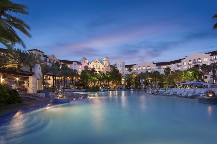 Hard Rock Hotel pool at Universal Studios Orlando