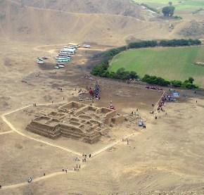 El Paraiso - Chuquitanta fue un centro religioso, político y administrativo de una sociedad de agricultores y pescadores.