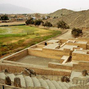 Puruchuco, sitio arqueologico en Lima, Peru