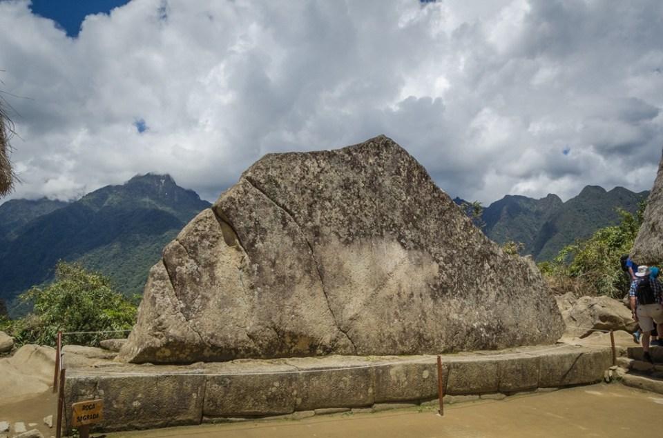 Roca Sagrada - Machu Picchu Perú