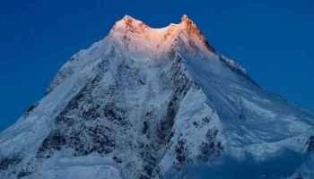 Mount Manaslu Peak View