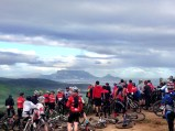 We sadly lost one of our friends Gugu Zulu as he passed away climbing Mount Kilimanjaro. This memorial ride was held for him at Meerendal. Rest in peace our brother