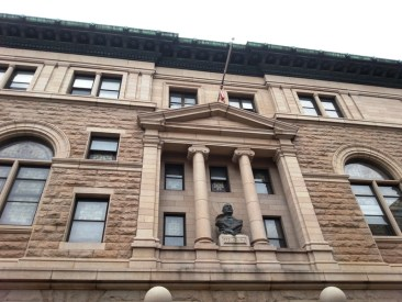 This is the Masonic Hall located in Albany, NY. It's going through a huge fundraising campaign.