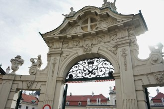 Speaking of the Lower Belvedere, this is the entrance into the museum at the Lower Belvdere.
