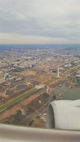 In this image you can see the White House. Can you find it?