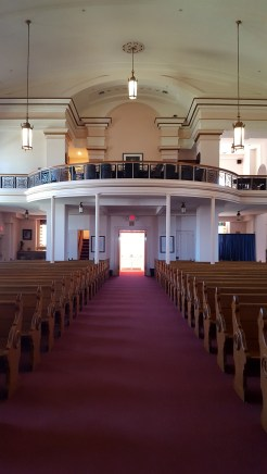 View of the Choir Loft and Gallery