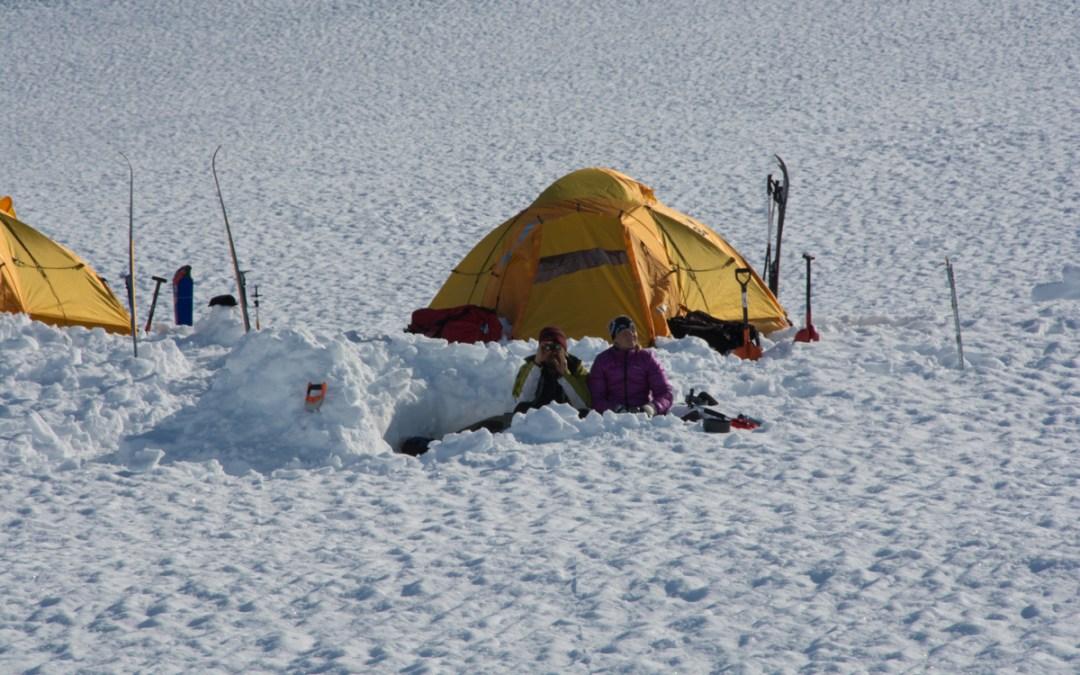 Vintercamping, en unik upplevelse