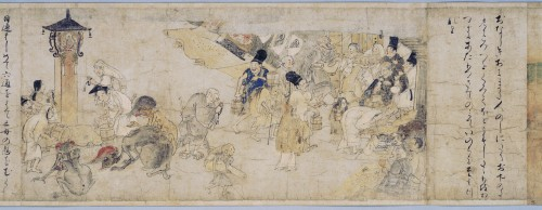 """Hungry Ghosts Scroll Kyoto 2"" by Unknown - Tokyo National Museum, Emuseum. Licensed under Public domain via Wikimedia Commons - http://commons.wikimedia.org/wiki/File:Hungry_Ghosts_Scroll_Kyoto_2.jpg#mediaviewer/File:Hungry_Ghosts_Scroll_Kyoto_2.jpg"