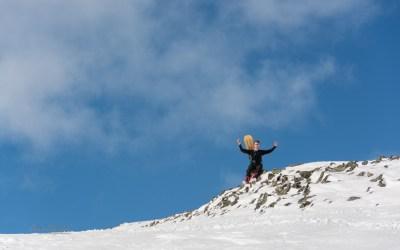 Lofoten Kite and Skitouring May 2018