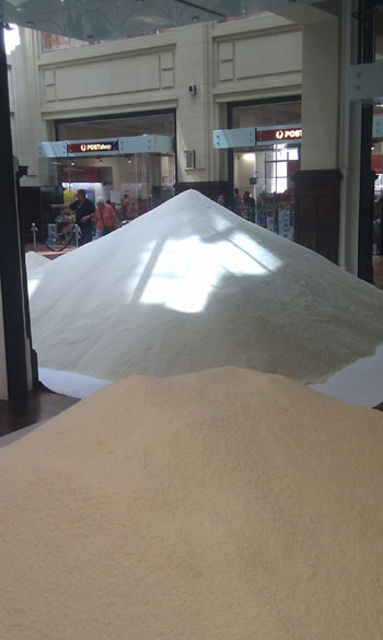 Yet More Big Piles Of Rice at The Rice Show