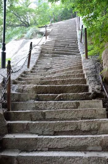 Hua Shan crooked stairs