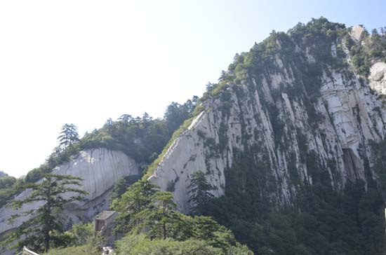 Dragon Back Ridge Hua Shan Mountain