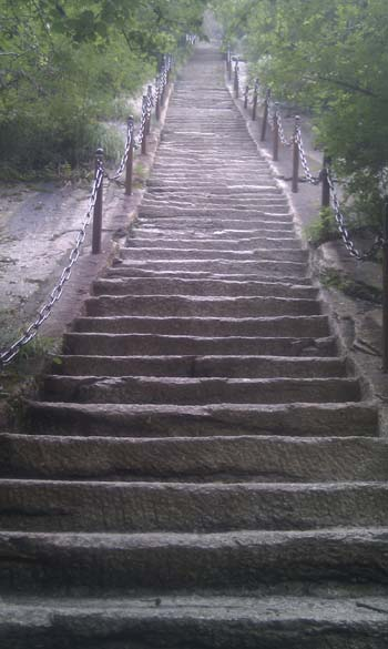 Hua Shan endless steps