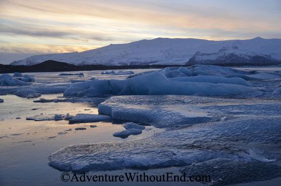 Icy lagoon