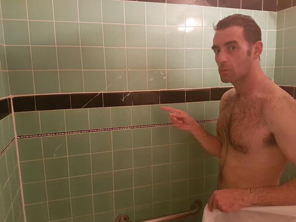 Shower slimed