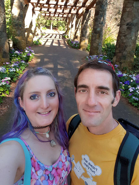 Tony n Roo at Araluen
