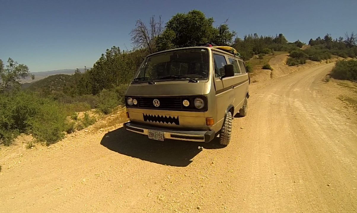 goldy the monster vanagon