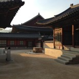 Walking through the many structures inside Gyeongbokgung Palace.
