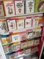 Kyobo Book Centre - very emotional greeting cards. lol.