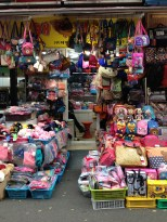 Namdaemun Market - cute bags.