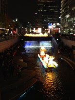 Seoul Lantern Festival - view from above.