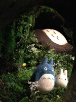 ....to find a sleeping Totoro and friends!