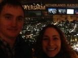 Selfie from observation deck.