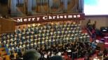 Choir, orchestra.