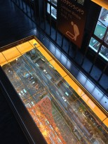 Tokyo Tower has glass floors too.