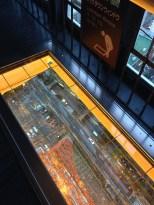 Tokyo Tower has glass floors too.