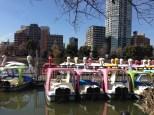 Boats. Swan boats.