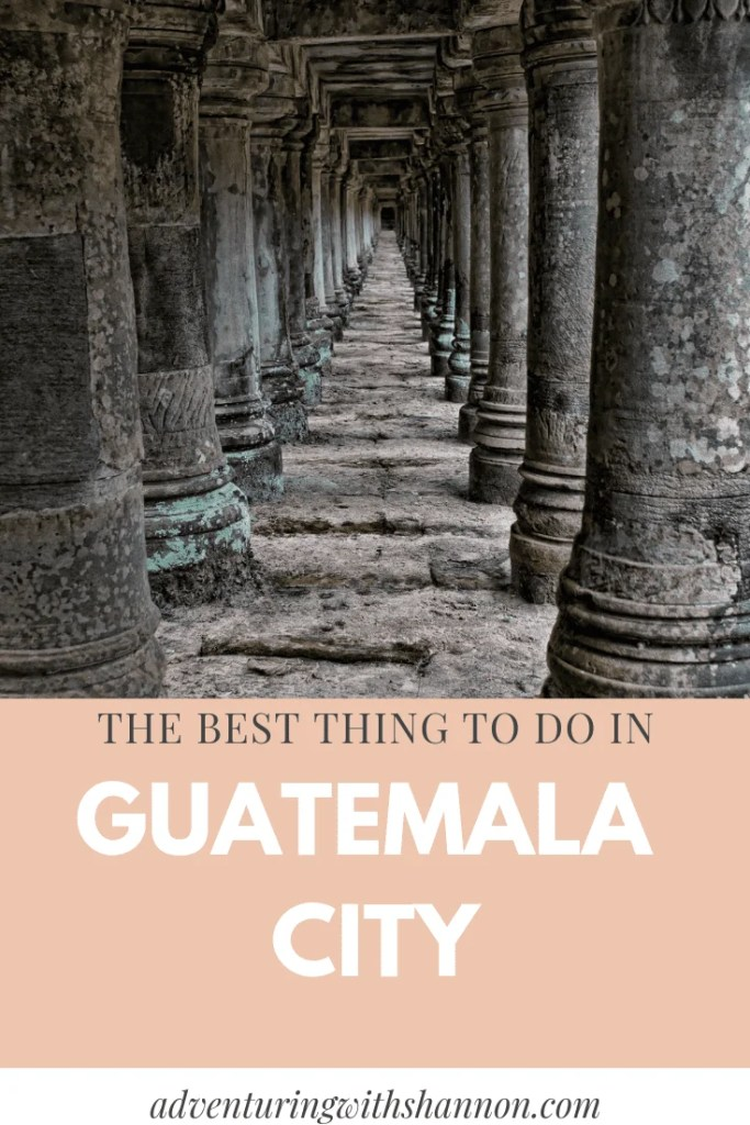 The best thing to do in #Guatemala City! #backpacking #mayan #latinamerica #centralamerica