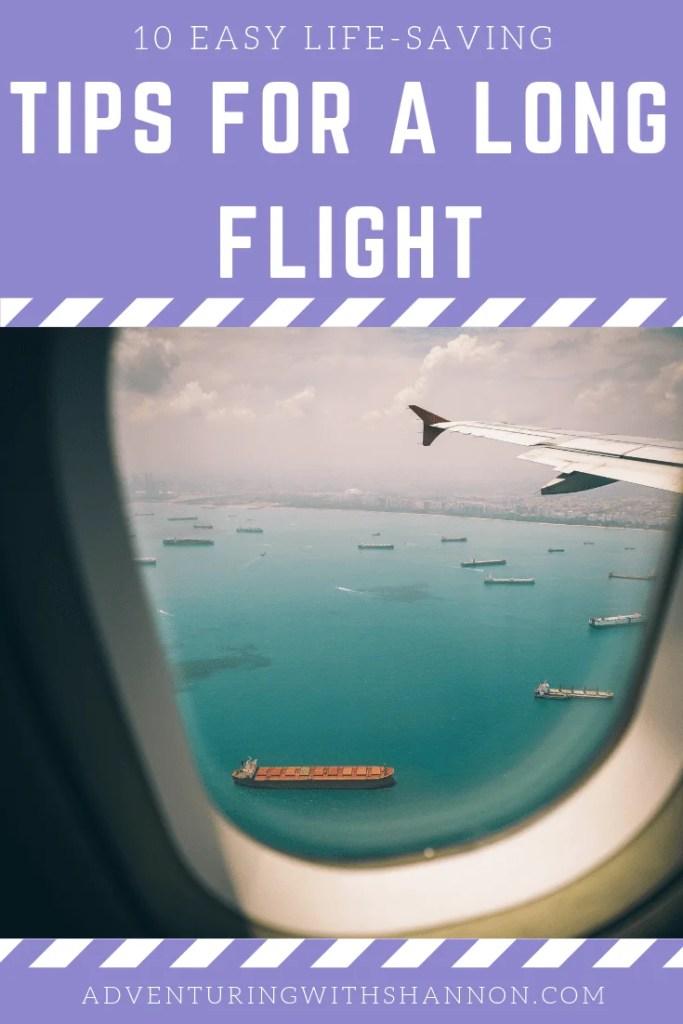 10 tips for a long flight