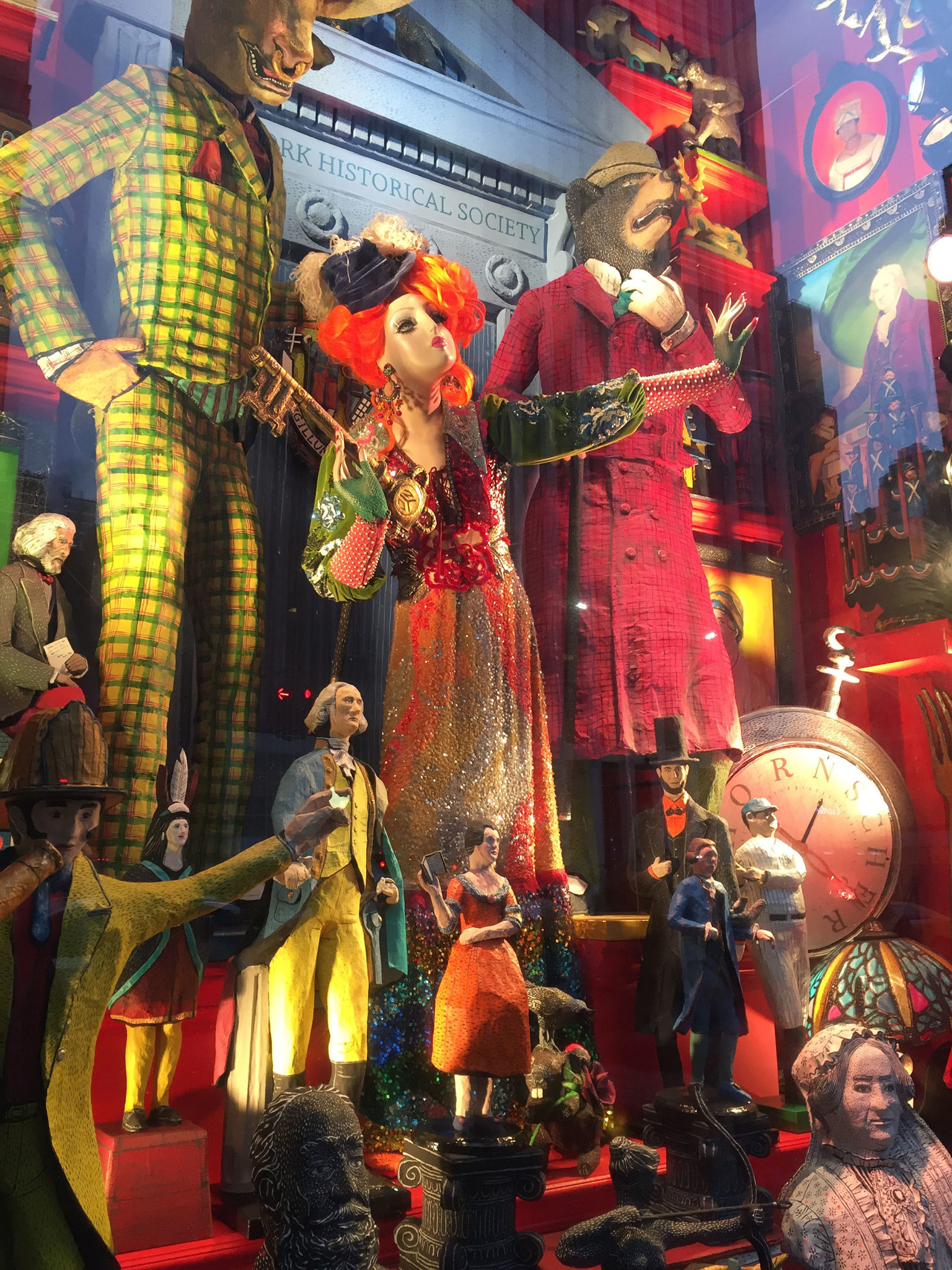 Christmas in New York! Windows and decorations | Adventuring Woman
