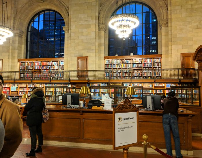 In Love with the New York Public Library | Adventuring Woman