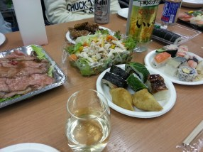 More food from my Birthdayparty at the Company