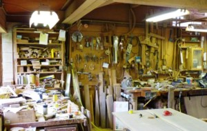 Nakashima Main Woodworking Shop