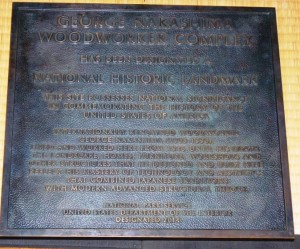 Nakishima National Historical Landmark plaque