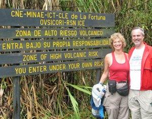 Volcano Ahead