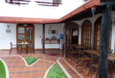 Courtyard at Galapagos Suites