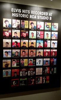 Elvis hits recorded at RCA Studio B