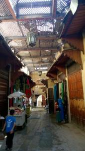 Street view in Fez Morocco