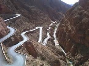 morocco mountain roads