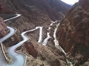 morocco mountain roads
